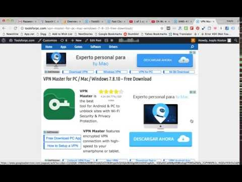 Download VPN Master For PC & MAC