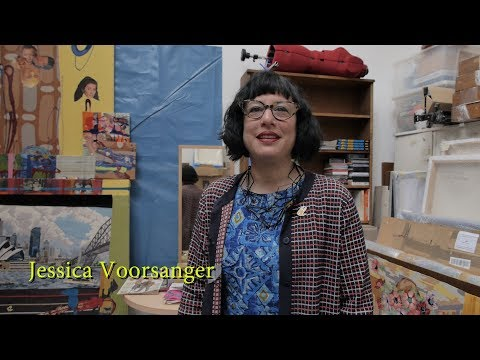 Art, Celebrity & Star Trek with Artist Jessica Voorsanger