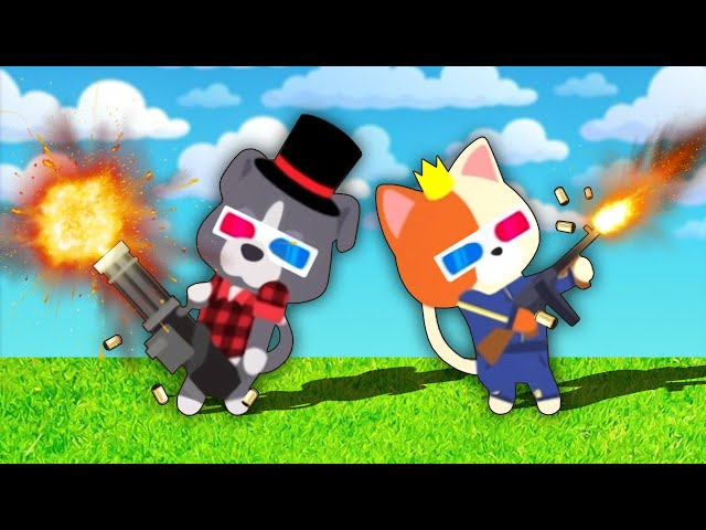 They Sent Me to the Happiest Place on Earth (to kill everyone) - Super Animal Royale