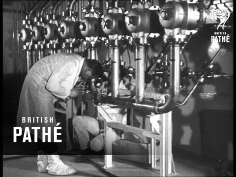 New French Atomic Plant (1962)