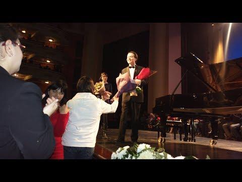Evgeny Kissin plays 3rd encore - Rachmaninoff - Prelude Op.3 No.2 in C# minor, Yerevan (27.12.2017)