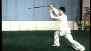 32式太極劍(背向演練 - 陳思坦)Taiji sword - 32 forms (back view demonstration - Chen Sitan)