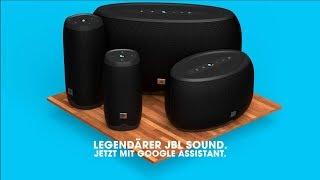 Die JBL LINK-Serie | Lautsprecher mit Sprachsteuerung per Google Assistant
