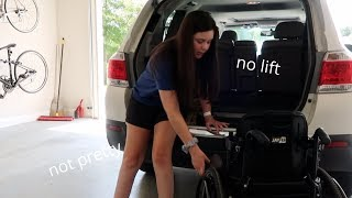 HOW I GET MY WHEELCHAIR IN AND OUT OF MY CAR *without a lift*