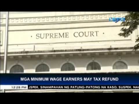 SC orders tax refund for minimum wage earners