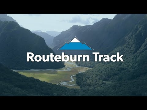 Alpine Tramping on New Zealand's Routeburn Track