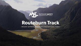 Routeburn Track: Alpine Tramping (Hiking) Series   New Zealand
