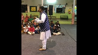 Vijay Viswanathan -  Storytelling Session   Aug ' 18 @ St. Marks School, Chennai - Pyjama Night