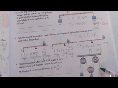 Fizika 7-ci sinif.Bloklar.Ağabəyli İsaməddin.