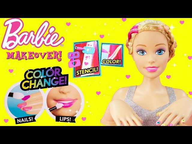 Barbie Flip Amp Reveal Deluxe Styling Head Color Change