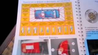 Световые приборы в автомобиле.