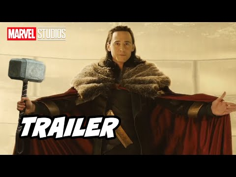 Marvel Loki Trailer 2021 – Season 2 Announcement and Thor 4 Marvel Movies Easter Eggs