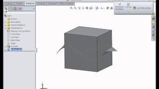 Beginner surface design   SOLIDWORKS Tutorials  Surface Design & Modeling