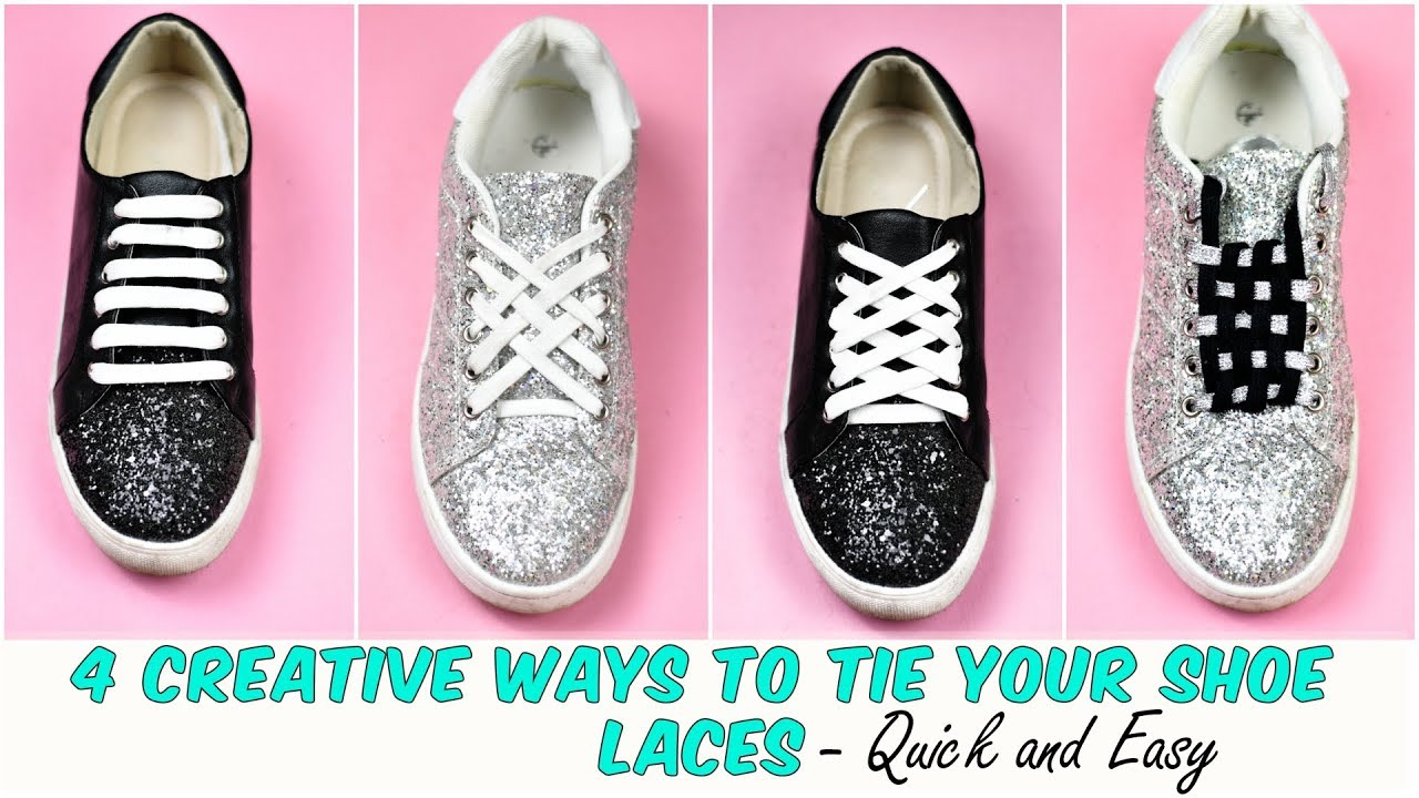 04d7c101e02c67 4 Creative WAYS To Tie Your Shoe Laces