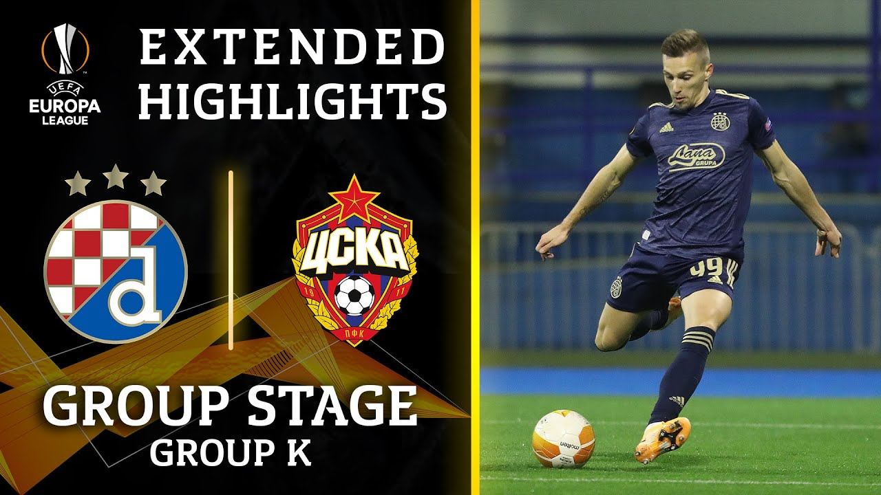 Dinamo Zagreb Vs Cska Moscow Match Facts In Europa League Grp K Round 6 On Thursday December 10 2020 14 00 P M