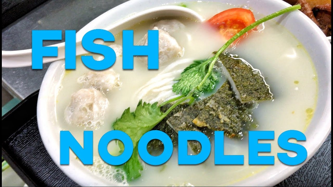 Unique noodles made out of fish youtube for How to make fishing noodles