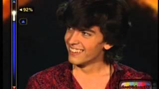Nicolas Bianchi canta Luna de Miel, etapa superar 80% Elegidos 2