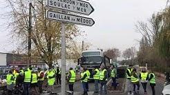 Gironde : les gilets jaunes poursuivent la mobilisation à Lesparre