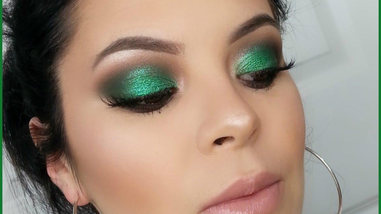maquillaje esmeralda