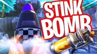 GAAT DE RAKET LANCEREN? STINK BOMB GAMEPLAY & NIEUWE FINAL FIGHT GAMEMODE in FORTNITE!!