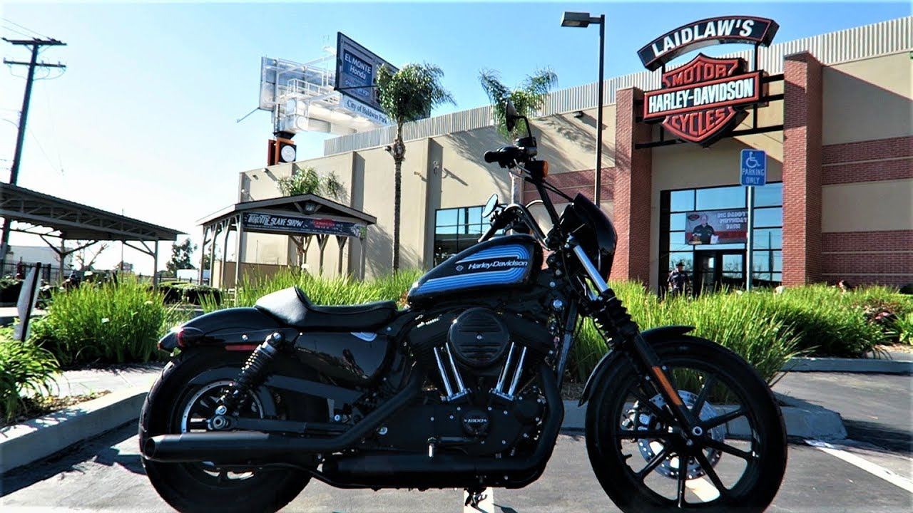 2018 Harley-Davidson Iron 1200 (XL1200NS) │ First Ride and ...