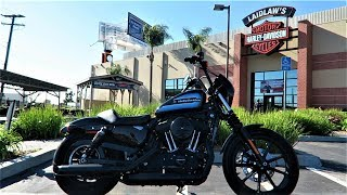2018 Harley-Davidson Iron 1200 (XL1200NS) │ First Ride and Review