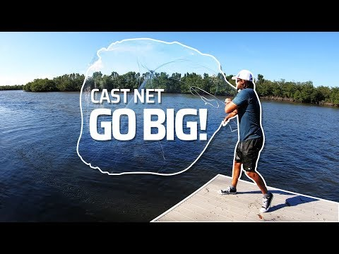 HOW TO THROW BIG CAST NETS - REELREPORTS
