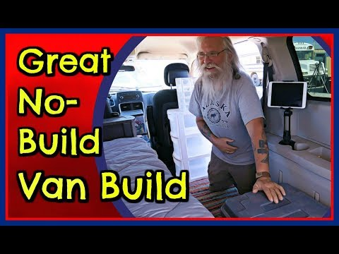 A Fantastic Super Cheap and Easy Van Build With Almost No Construction or Tools Required