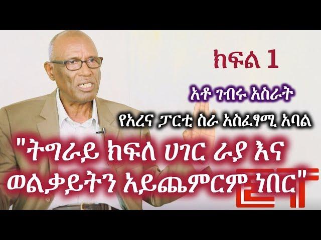 Interview with Gebru Asrat