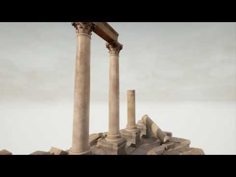 Antique Columns UE4 Marketplace asset pack