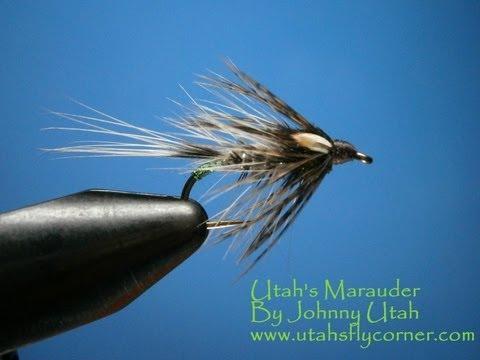 Tying Utah's Marauder Wet Fly With Johnny Utah