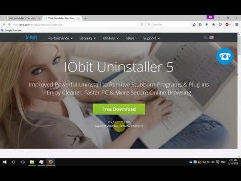 Cách xóa bỏ,  gỡ sạch ứng dụng Windows bằng IObit uninstaller Free