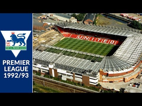 FA Premier League 1992/93 Stadiums