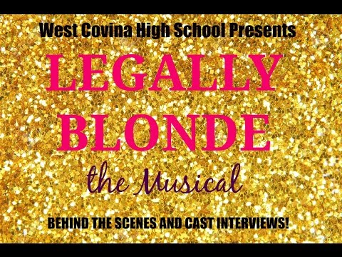 Legally Blonde the Musical: Behind the scenes! WCHS