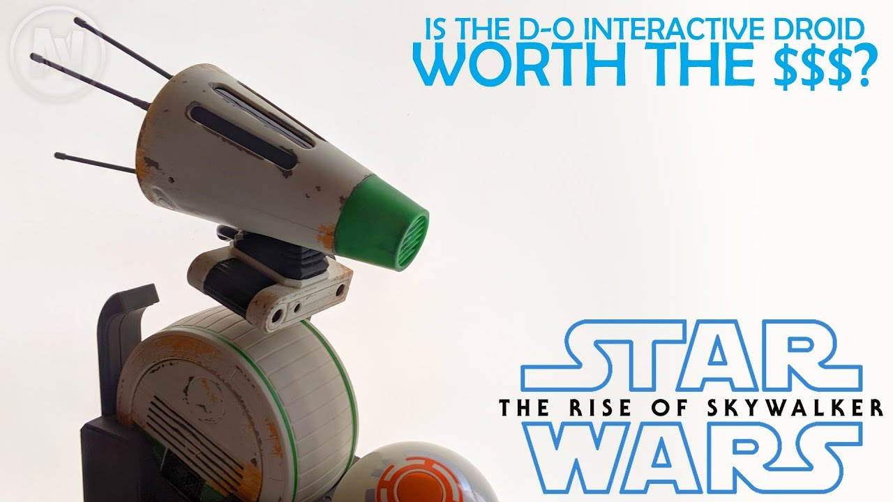 Star Wars The Rise Of Skywalker D O Interactive Droid Review Hasbro Youtube