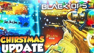 BO3 NEW DLC WEAPONS UPDATE 1.26 NOW LIVE! - BLACK OPS 3 CHRISTMAS UPDATE! (NEW BO3 SUPPLY DROP GUNS)