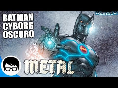 METAL - BATMAN CYBORG OSCURO | BATMAN The Murder Machine #1 | COMIC NARRADO