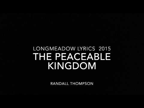"Longmeadow Lyrics ""Peacable Kingdom"""