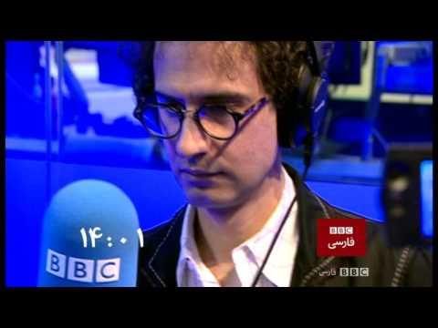 BBC Persian Start up with BBC World Service Radio on TV