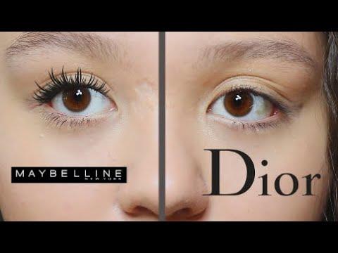 БЮДЖЕТ или ЛЮКС: ЧТО ЛУЧШЕ? | ДОРОГО Vs ДЕШЕВО | Тушь Maybelline VS Тушь Dior