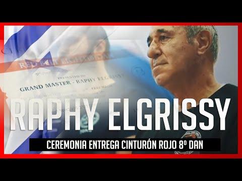 ✅ RAPHY ELGRISSY 8th dan ceremony - KRAV MAGA 💥