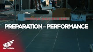 Honda Racing Bsb | Preparation = Performance