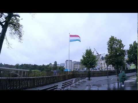 Luxembourg - Plateau de Kirchberg - GoPro HERO 5 Black - Time lapse - 4K