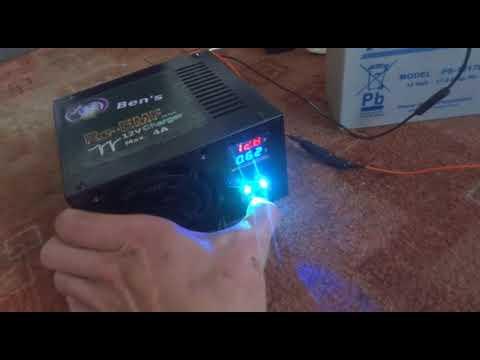 rasentraktor batterie re emf ladeger t f r ben youtube. Black Bedroom Furniture Sets. Home Design Ideas