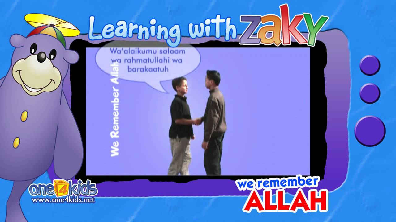 Muslim greeting learning with zaky youtube m4hsunfo