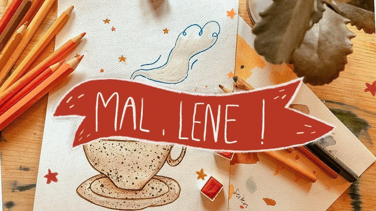 Mal, Lene #1 Ich bin Illustratorin - Wie ich meinen Schweinehund besiegte.