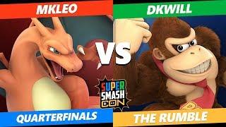 SSC2019 SSBU - FOX MVG Mkleo (Charizard) VS  DKWill (Donkey Kong) The Rumble Quarterfinals