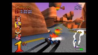 Video Dingo Canyon - Trophy Race - Crash Team Racing - 101% Playthrough (Part #9) download MP3, 3GP, MP4, WEBM, AVI, FLV November 2018