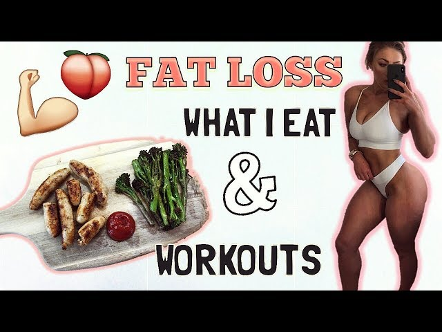 WHAT I EAT & HOW I WORKOUT FOR FAT LOSS?! | A DAY WITH ME...