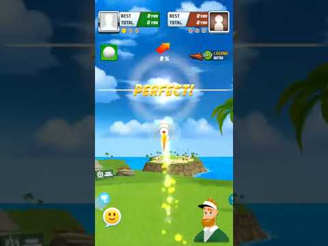 Golf Hero : Long drive shot